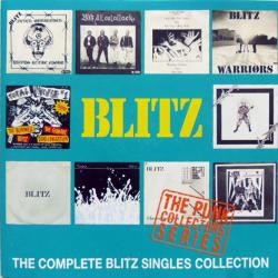 BLITZ COMPLETE BLITZ SINGLES COLLECTION Фирменный CD