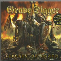 GRAVE DIGGER LIBERTY OR DEATH Фирменный CD