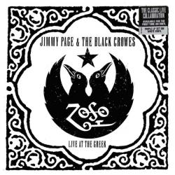 JIMMY PAGE & THE BLACK CROWES LIVE AT THE GREEK Виниловая пластинка
