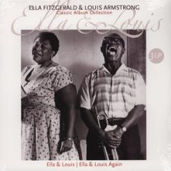ELLA FITZGERALD AND LOUIS ARMSTRONG CLASSIC ALBUM COLLECTION Виниловая пластинка