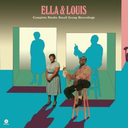 ELLA FITZGERALD AND LOUIS ARMSTRONG COMPLETE STUDIO SMALL GROUP RECORDINGS Виниловая пластинка