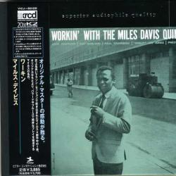 MILES DAVIS QUINTET WORKIN' WITH Фирменный CD