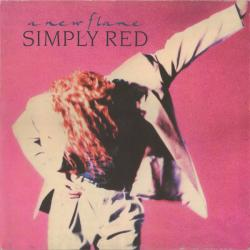 SIMPLY RED A NEW FLAME Виниловая пластинка
