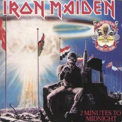 IRON MAIDEN 2 Minutes To Midnight · Aces High Фирменный CD