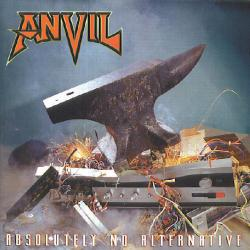 ANVIL Absolutely No Alternative Фирменный CD