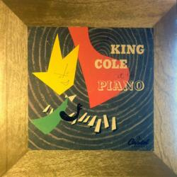 NAT KING COLE AT THE PIANO Виниловая пластинка