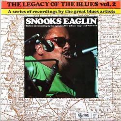 SNOOKS EAGLIN The Legacy Of The Blues Vol. 2. Виниловая пластинка