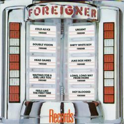 FOREIGNER RECORDS Фирменный CD