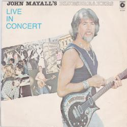 JOHN MAYALL AND THE BLUESBREAKERS Live In Concert Виниловая пластинка