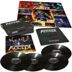 ACCEPT RESTLESS AND LIVE LP-BOX