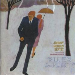 JOHNNY HODGES BLUES A-PLENTY Фирменный CD