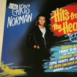 CHRIS NORMAN HITS FROM THE HEART Виниловая пластинка