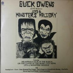 Buck Owens And The Buckaroos (It's A) Monsters' Holiday Виниловая пластинка